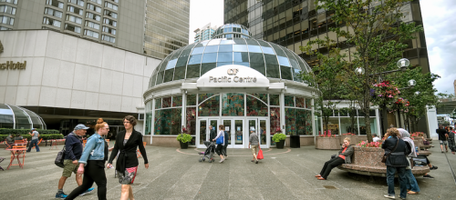 Vancouver has two of Canada's three most productive malls